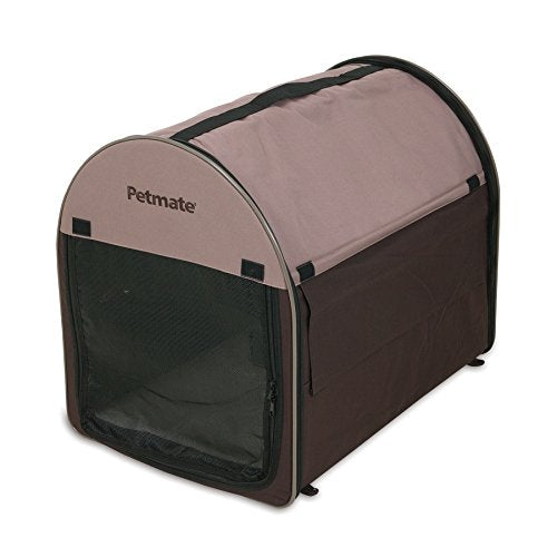 Petmate Portable Pet Home, Small, Dark Taupe/Coffee