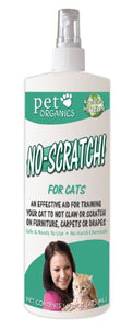 "Pet Organics ""No Scratch"" Spray for Cats"