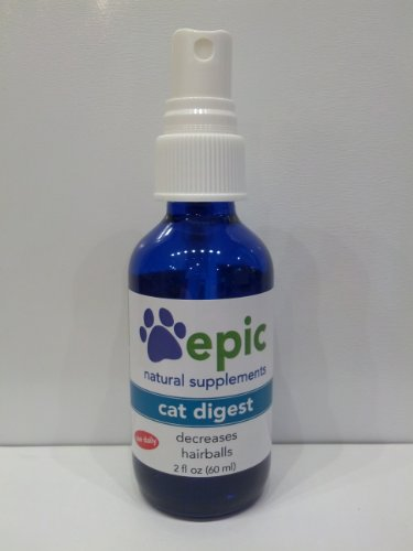 Cat Digest by Epic Pet Health, Decreases Hairballs (1 Ounce, Spray)