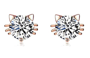 18k Gold Plated Austrian Swarovski Crystal Zircon Earrings