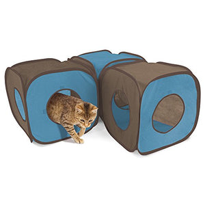 Polyester Pop-up Cat Cube, Made of polyester