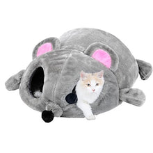 Big Mouse-Shaped Cat Sleeping Bed