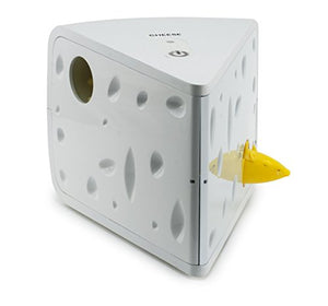 Cheese Battery-Powered Toy with 2 Mice