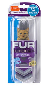 Hartz Groomer's Best Fur Fetcher Deshedding Tool for Cats