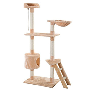 Cat and Kitten Condo Tree, Made of E1 Grade Particleboard