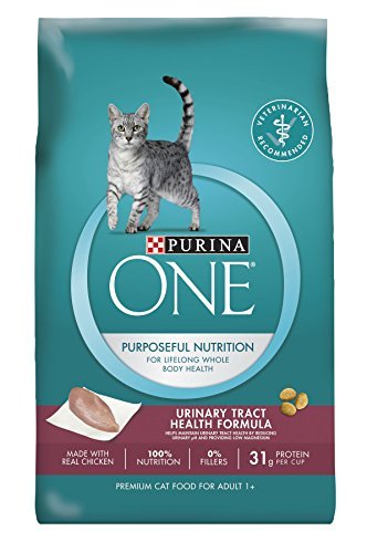 Purina ONE Urinary Tract Health Formula Dry Cat Food, Made with Real Chicken