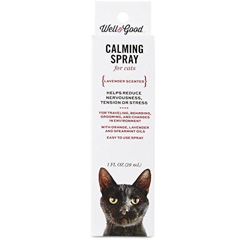 Well & Good Cat Calming Spray, Lavender Scented