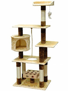 Go Pet Club Cat Tree with IQ Box