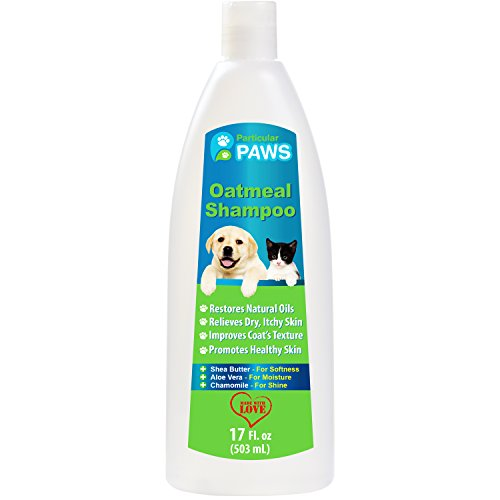 Oatmeal Shampoo for Dogs & Cats by Particular Paws, Restores Natural Oils