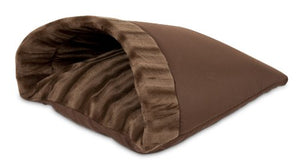 Chocolate Brown Kitty Cave