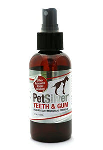 PetSilver Teeth & Gum for Pets, 4 fl oz