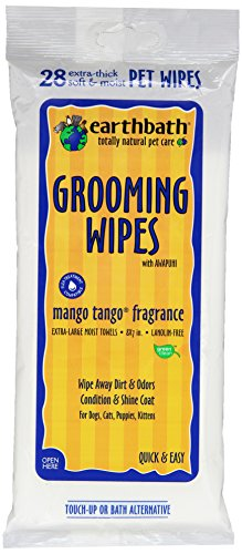 Earthbath 28 Count Mango Tango Grooming Wipes