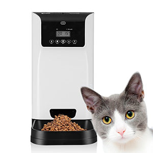 Smart Automatic Sound Recording Pet Feeder by Petera