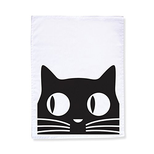 "Big Eyes Cat Tea Towel, 20"" x 28"