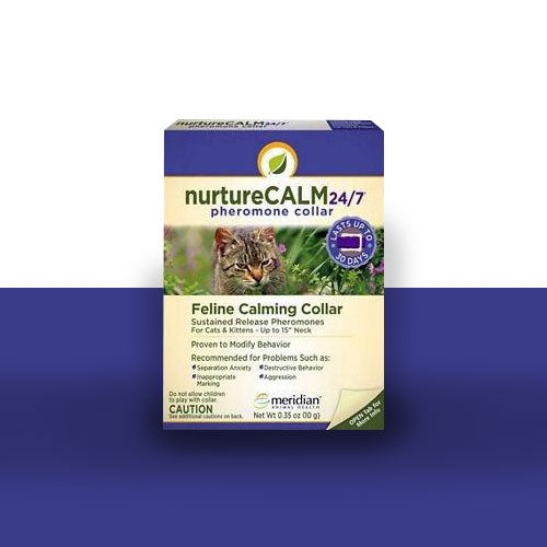 NurtureCALM 24/7 Pheromone Collar for Cats and Kittens  Edit alt text