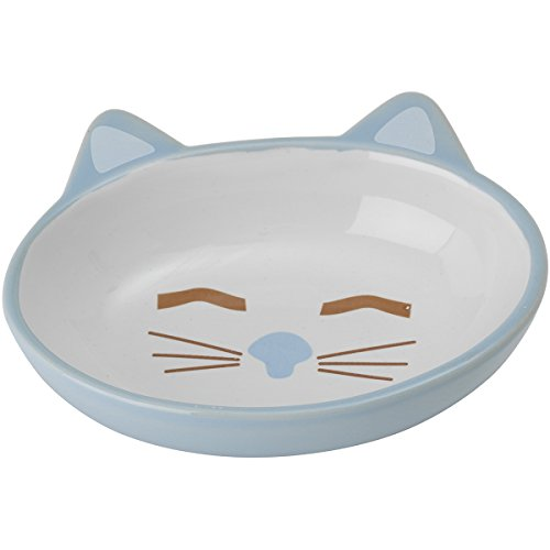 Petrageous Hand-crafted Stoneware Cat Bowl