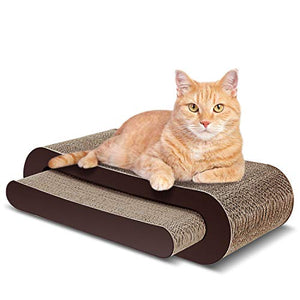 Two Pieces Cat Scratcher Lounge