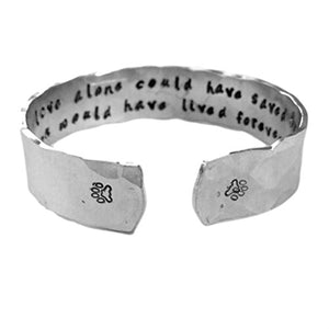 Pet Memorial Custom Bracelet, Handcrafted in the USA