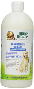 Aloe Remoisturizer Pet Conditioner by Nature's Specialties, Rejuvenates Skin and Coat