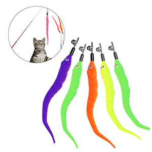Replacement of Worms for Interactive Cat Toy, Safe Material