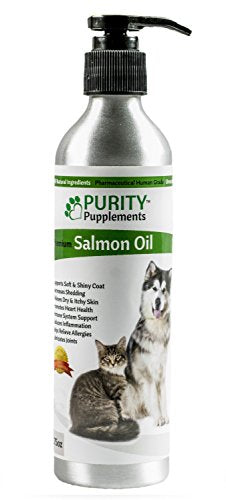 Purity Premium Salmon Oil For Dogs & Cats, 8.75 oz