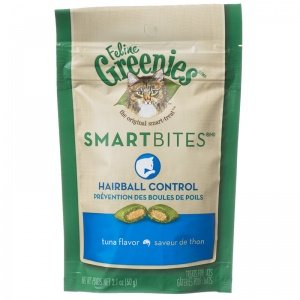 Smartbite Hairball Tuna Cat Treat by Greenies, 2.1 Oz