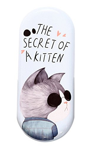 Cartoon Cat Wearing Sunglasses Case, The Secret of a Kitten