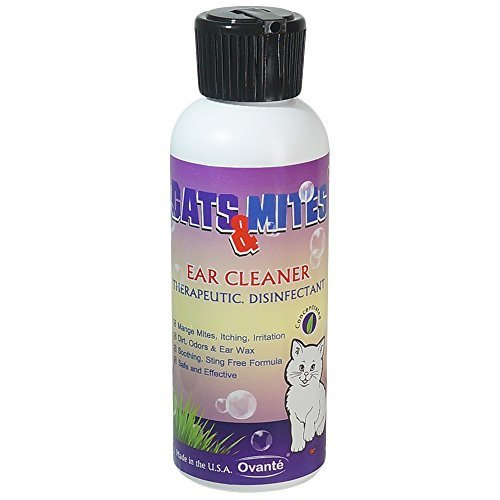 Cats & Mites Ear Cleaner Natural Therapeutic Disinfectant