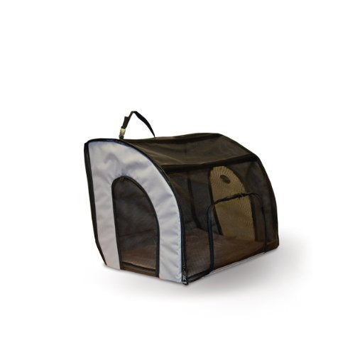 Safety Small Gray Pet Carrier