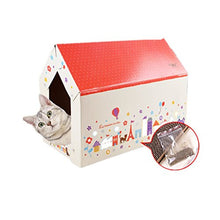 Cat House and Scratcher