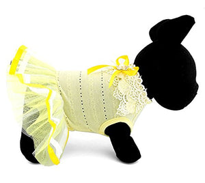 Yellow Small Pet Clothes