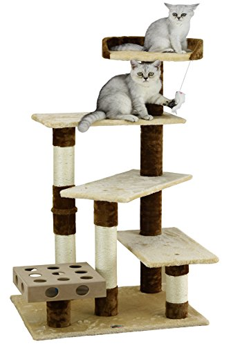Go Pet Club Faux Fur Covered Cat Tree