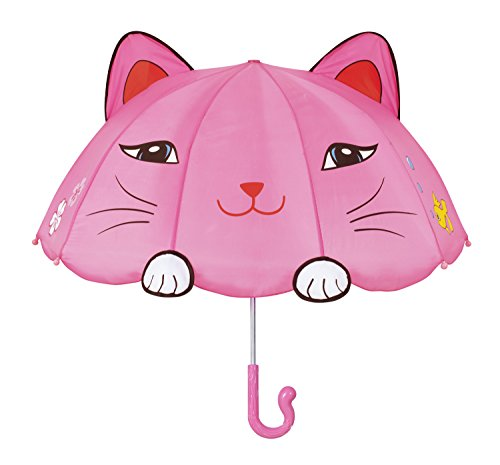 Pink Lucky Cat Umbrella by Kidorable, 4