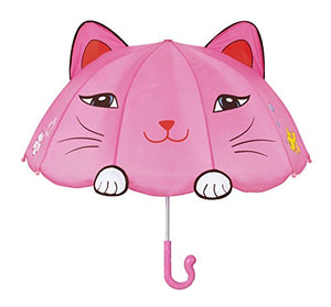 "Pink Lucky Cat Umbrella by Kidorable, 4"" high X 4"" wide"