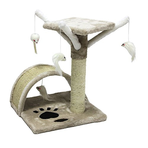 Multi-Level Design Cat Tree Scratching Furniture
