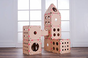 Modular Castle Tower Cat House