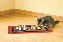 Cat Bowl with Place Mat in Hungry by Drymate