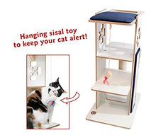 Modern Wooden Design Cat Tree Condo Furniture