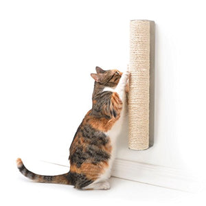 Wall Mounted Tall Vertical Surface Scratching Post