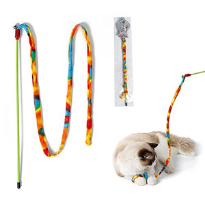 2 Sets of Rainbow Interactive Cat Wands