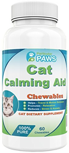 Cat Calming Aid, 60 Chewables by Particular Paws