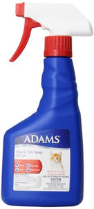 Flea and Tick Spray for Cats by Adams, Breaks Flea Life Cycle