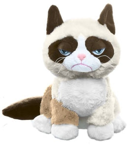 Ganz Grumpy Sitting Cat, 7 x 5 x 8 inches