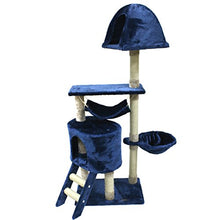CUPETS Cat Play House Condo Scratching Post Cat Tree