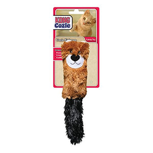 Cozie Kickeroo Catnip Toy with Crinkly Sound