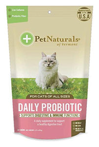 Pet Natural's of Vermont Daily Probiotic for Cats, Supports Digestive & Immune Functions