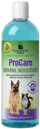 PPP Pet Pro-Care Dental Solution, Water Additive for Healthy Teeth