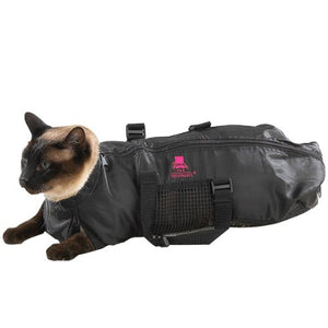 Durable and Versatile Cat Black Grooming Bag