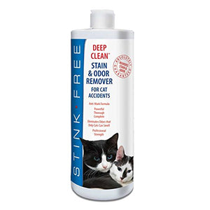 Deep Clean Cat Stain & Odor Remover for Cat Accidents