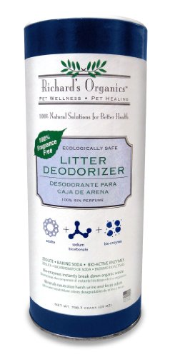 SynergyLabs Richard's Cat Litter Deodorizer, 100% Fragrance Free